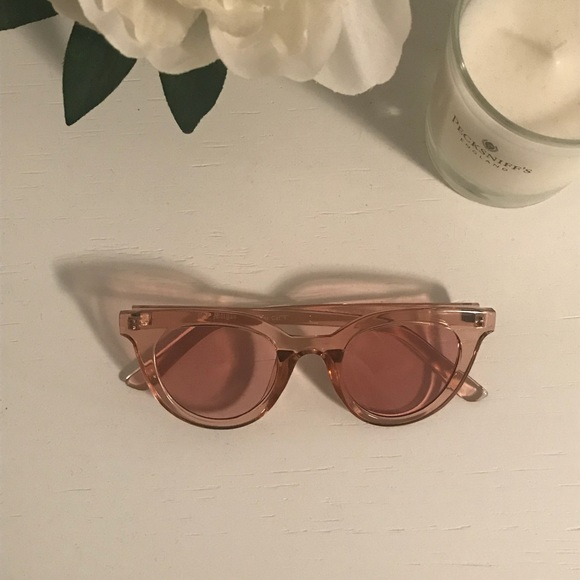f8d1f697e Aj Morgan Accessories | Pink Sunglasses Pink Lense | Poshmark